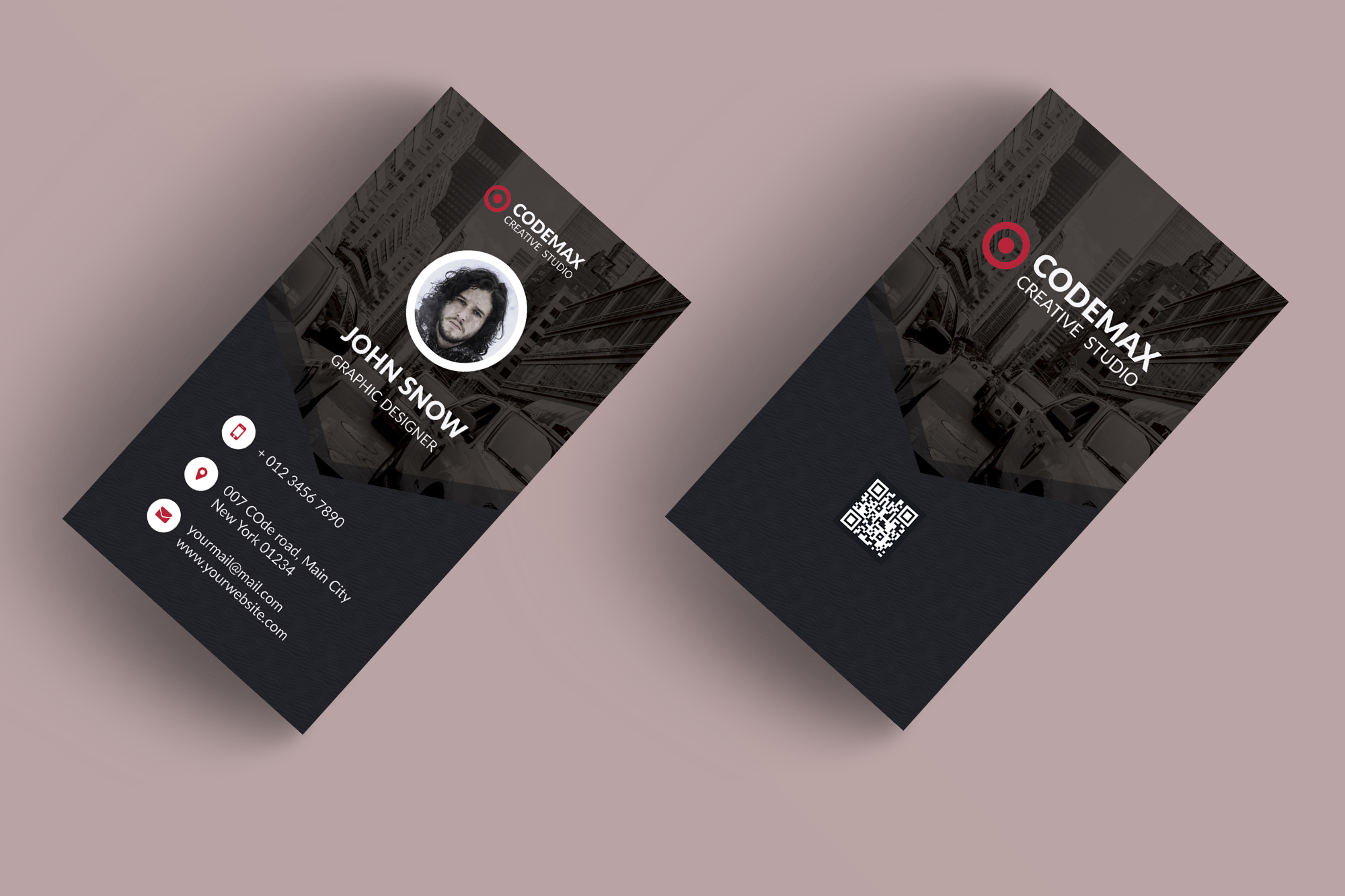 Modern business card mabd86 free psd templates download mabd86 modern business card mabd86 fbccfo Image collections
